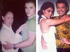 'Eu & Gabrielas', diz David Brazil sobre foto com Sônia Braga e Ju Paes