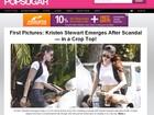Site divulga primeira foto de Kristen Stewart pós-escândalo de traição
