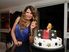Elba Ramalho reúne famosos na festa de seus 61 anos