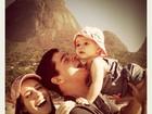 Fernanda Pontes homenageia marido: 'Suas mulheres te amam'