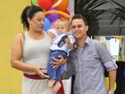 Solange Couto comemora aniversário de um aninho do caçula