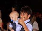 Filho de Neymar usa mesma roupa do pai em festa de aniversário