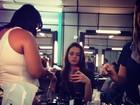 Bruna Marquezine posta foto dos bastidores de novela