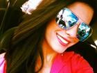 Panicat Babi Rossi posta foto com cabelão e explica: 'Aplique'