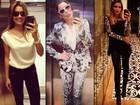 Estilosa, Flávia Alessandra fala sobre moda. Veja 30 looks dela e inspire-se