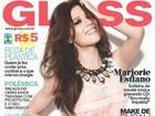 Marjorie Estiano posa com look roqueira sexy para revista