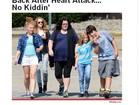 Rosie O'Donnell passeia pelas ruas de Nova York após ataque cardíaco