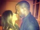 Kim Kardashian posta foto com Kanye West