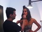 Depois de show de Luan Santana, Gata do Paulistão se derrete: 'Ele é lindo'