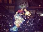 Latino e David Brazil brincam: 'Nova York também tem seu lixão'