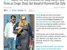 Adele mostra barrigão na reta final de gravidez