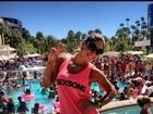 Mayra Cardi posta foto em Las Vegas um dia antes do aniversário