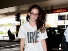 Kristen Stewart é fotografada após se separar de Pattinson