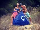 Yasmin Brunet publica foto romântica com o namorado