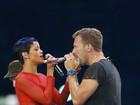Rihanna e Coldplay se apresentam no encerramento das Paralimpadas