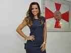 Renata Santos nega ida ao Salgueiro para atingir Gracy: 'Vim prestigiar Vivi'