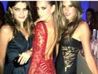Isabeli Fontana, Alessandra Ambrósio e Izabel Goulart curtem noite em NY
