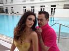 Débora Nascimento surge poderosa em ensaio no Copacabana Palace