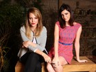 Em tarde de beleza, Jana Rosa e Titi Müller falam da amizade fora da MTV