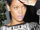 Rihanna vai a restaurante usando dentes de ouro