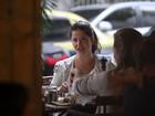 Samara Felippo, Priscila Fantin e Carolinie Figueiredo lancham juntas