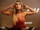 Renatinha mostra sua rotina de exercícios na academia: 'Quero ficar forte'