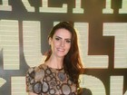'Estou muito feliz e realizada', diz Lisandra Souto sobre volta às novelas