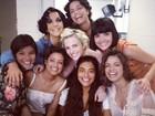 Ivete brinca com elenco feminino de 'Gabriela': 'Amigas para sempre'