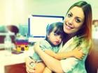 Irmã posta foto paparicando Rafaella Justus: 'Minha paixãozinha'