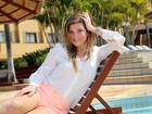 'Estou chegando bem aos 50, sem paranoia', diz Cristiana Oliveira, aos 48