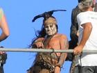 Mergulhador da equipe do novo filme de Johnny Depp morre no set, diz site