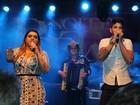 Preta Gil canta com Gusttavo Lima em show para famosos