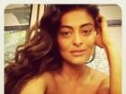 Juliana Paes posta foto decotada com figurino de 'Gabriela'