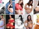 'VC no EGO': Veja as internautas que adoram exibir o barrigão na gravidez
