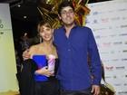 Carolina Dieckmann e Bruno De Luca vão ao Festival do Rio