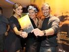 Sophie Charlotte e Malvino Salvador vão a pré-estreia de filme no Rio