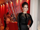 Nanda Costa ousa no modelito em festa: 'Essa é a delícia de viver'