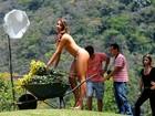 Panicat Narizinho evita comer no dia do Paparazzo: 'Sem barriga nas fotos'
