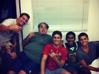 Daniel Rocha se despede do elenco de 'Avenida Brasil'