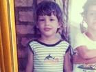 A mesma boca: Grazi posta foto de Cauã Reymond pequenininho