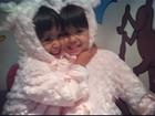Giovanna Antonelli mostra foto das gêmeas com fantasia de pelúcia