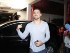 Cauã Reymond brinca: 'Treinei menos que Adriano, mas fiz gol'