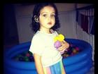 Tânia Mara posta foto da filha Maysa