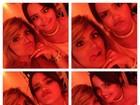 Mãe amiga: Kelly Key faz caras e bocas com sua filha com Latino