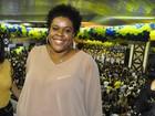 Cacau Protásio, a Zezé de 'Avenida Brasil', curte samba no Rio