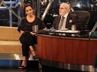 'Amo faxina, e esfregão é um tesão', diz Ivete Sangalo no 'Programa do Jô'