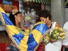 Juliana Alves é apresentada como rainha de bateria da Unidos da Tijuca