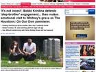 'Não é incesto', diz filha de Whitney Houston a site sobre noivo 'irmão'