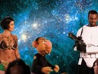 Kim Kardashian  publica foto com Kanye West  em paródia de 'Star wars'