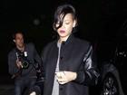 Rihanna e Chris Brown vão juntos a aniversário do marido de Elton John